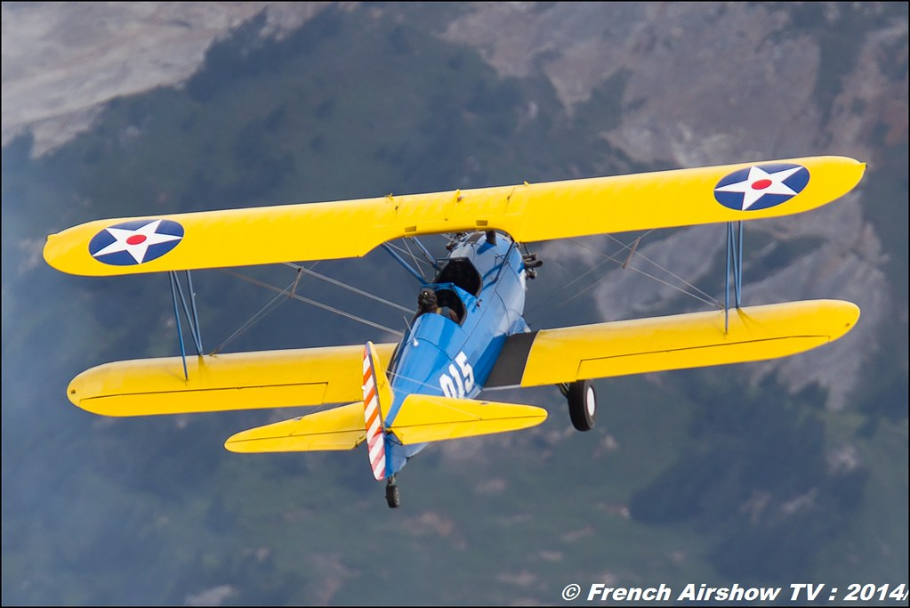 PT-17 Stearman Roanne Stearman Chronographe Dodane 1857 jacque Aboulin, courchevel 2014