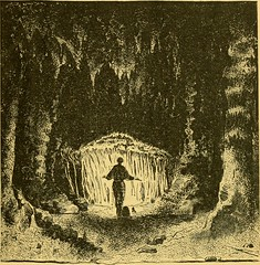 """Image from page 22 of """"The caverns of Luray : an illustrated guide-book to the caverns, explaining the manner of their formation, their peculiar growths, their geology, chemistry, etc."""" (1886)"""