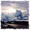 July 31/14 - rise {this mornings sunRISE a little late after driving through a wicked thunderstorm on my way to work} #fmsphotoaday #rise #sunrise #clouds #thunderstorm #morning #weather #summer