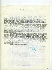 075. Habsburg Ottó levele Bakách-Bessenyey Györgynek a magyar emigráció helyzetéről és a nemzetközi válságról
