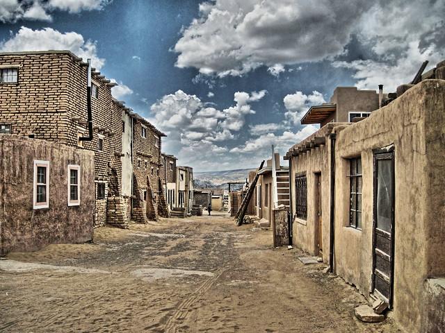 Acoma Pueblo street scene HDR EDIT 20100621