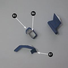 วิธีทำของเล่นโมเดลกระดาษกับตันอเมริกา (Chibi Captain America Papercraft Model) 010