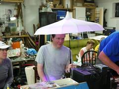 Bristol Hackspace: Richards LED Umbrella
