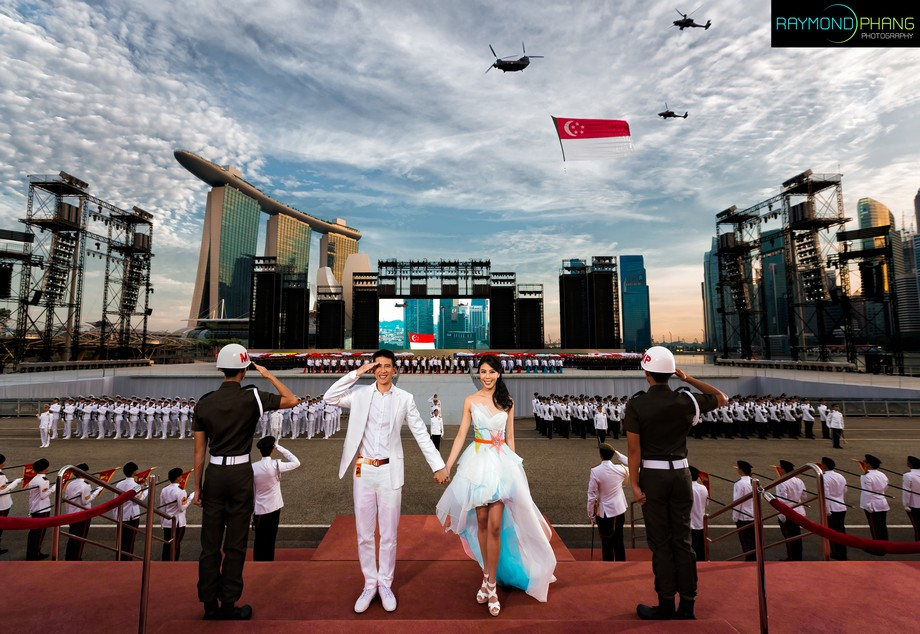 Bridal pre-wedding by Raymond Phang