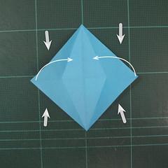วิธีพับกระดาษเป็นถาดใส่ขนมรูปดาวแปดแฉก (Origami Eight Point Star Candy Tray) 007