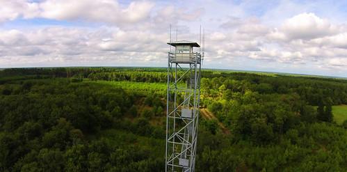 Poste de surveillance Forêt Gironde