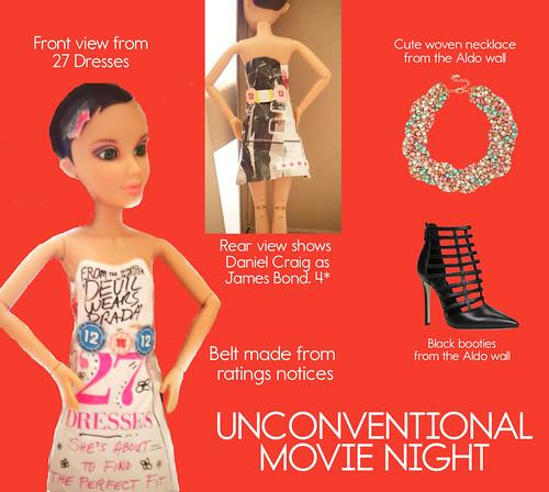 Unconventional movie night