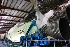 Saturn V rocket, Johnson Space Center