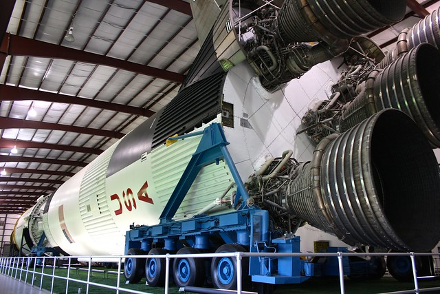 Saturn V rocket, Houston, Texas