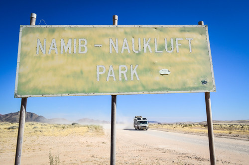 Gate of the Namib-Naukluft national park