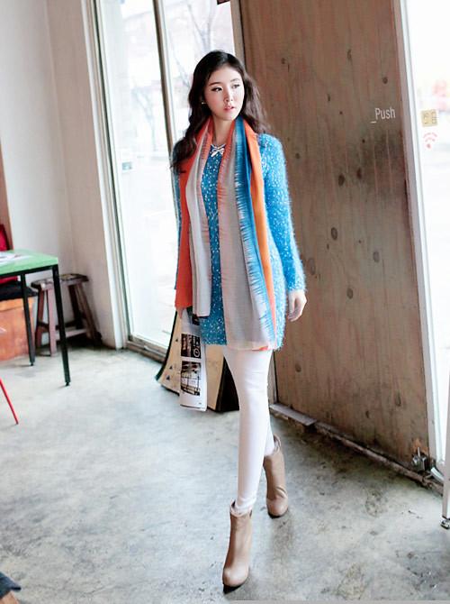 Cách quàng khăn ĐẸP như Hàn Quốc cho Nam/Nữ mà đơn giản 1
