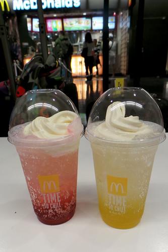 McDonald's Ice Cream Drinks