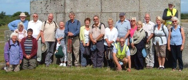 Lostwithiel U3A Walking  Group at Bodmin