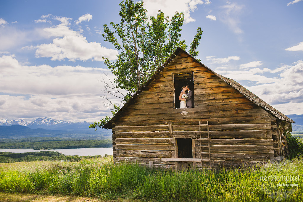 The Old Homestead House - Smithers BC Wedding