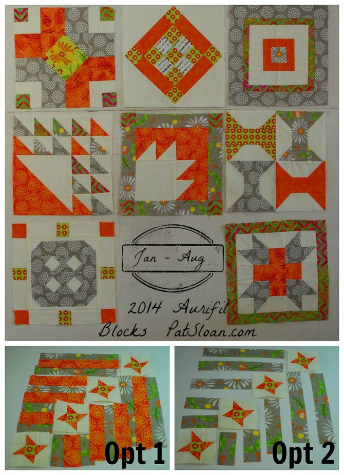 Pat sloan sept 2014 aurifil block which opt
