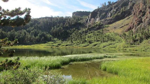 Backpacking Silver Lake to Thousand Island Lake