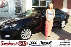 #HappyBirthday to Leah Patterson from Don  Weintraub at Southwest KIA Rockwall!