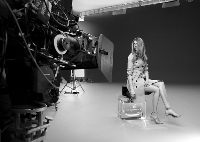 5 My Burberry Behind the Scenes