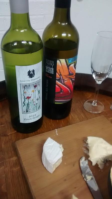 Wine tasting @ Inner City Winemakers
