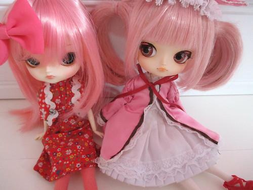 Desi (ms frara) & Hina Ichigo (madoka)