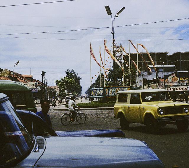 SAIGON 1965 - Vòng xoay ngã sáu Nguyễn Tri Phương
