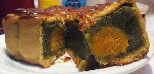 唯王食品中秋節廣式月餅-抹茶雙黃