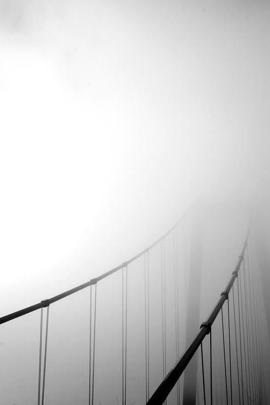 Goldengelchen Emmericher Rheinbrücke im Nebeldunst01