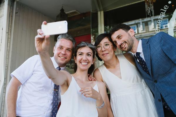 Celine Kim Photography intimate High Park Parkdale restaurant wedding Toronto wedding EM-54