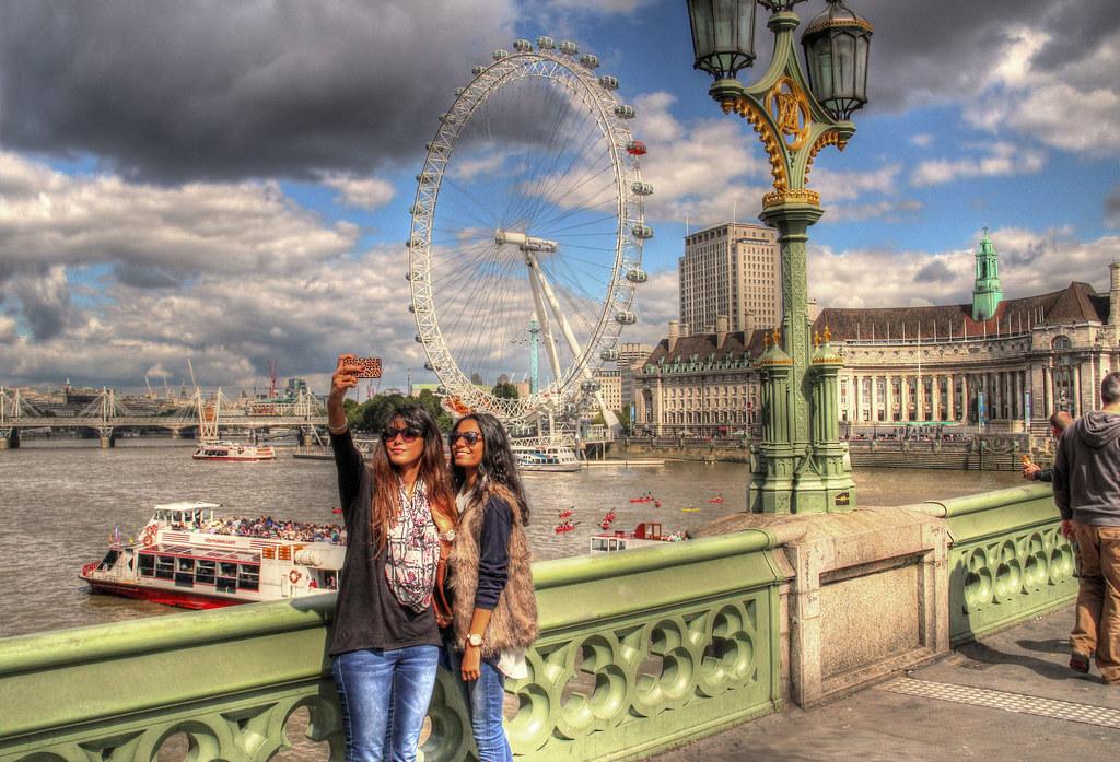 London Eye Selfie