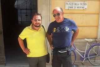 Noicattaro. Vito Detoma e Michele Dipinto front