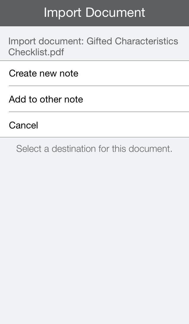 notability screenshot 9 pic