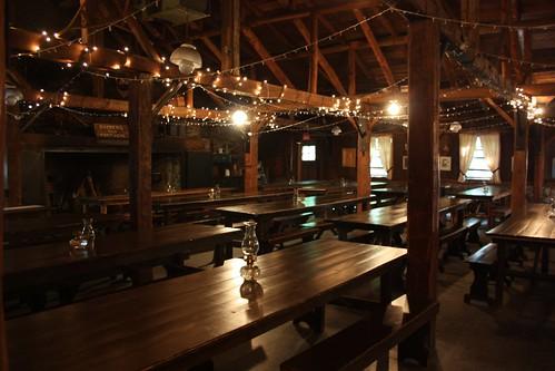 Inside Sucrerie de la Montagne