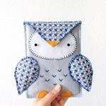 Owl Kindle Cozy tutorial