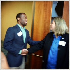 Maggie Sacra and Levar Equality Breakfast 2013