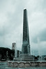 Obelisk & fountain, 'cold tone'