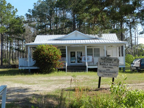 One of the major partners in the Sapelo Island Red Pea Project is SICARS which has a facility on Sapelo Island. NRCS photo.