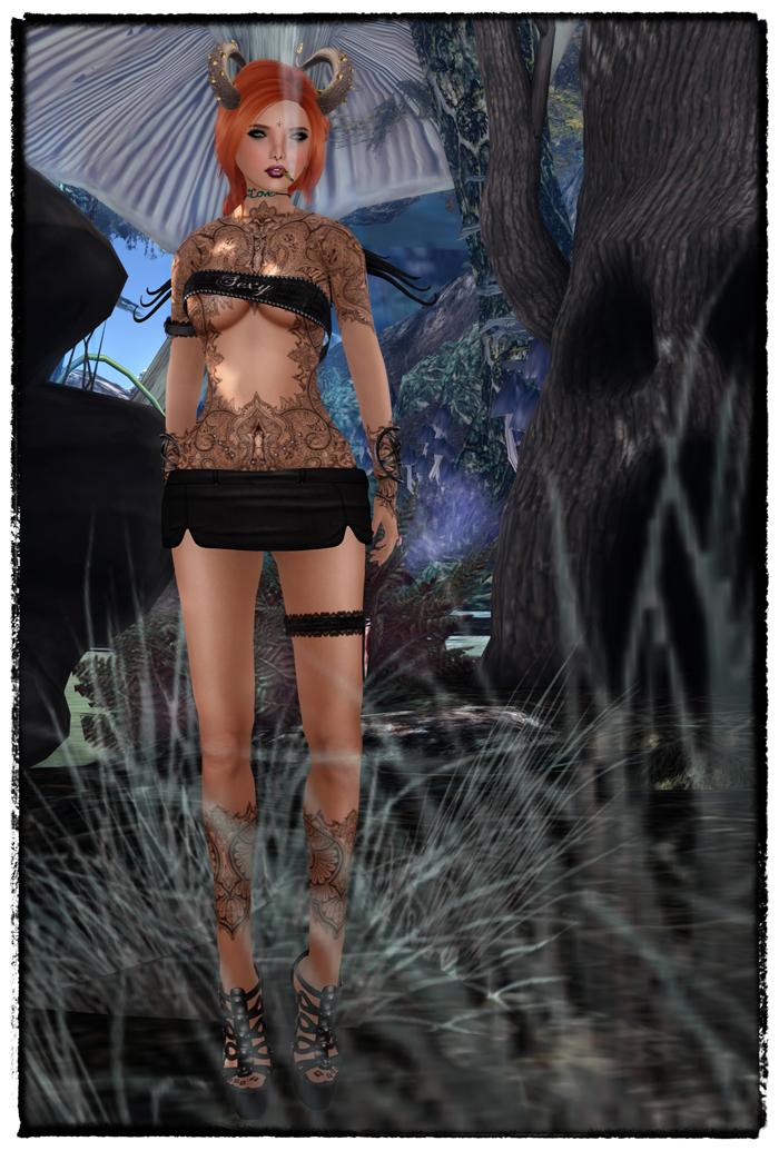 Sexy Dark Fae 1-1