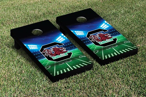 South Carolina Gamecocks Cornhole Game Set Stadium Version