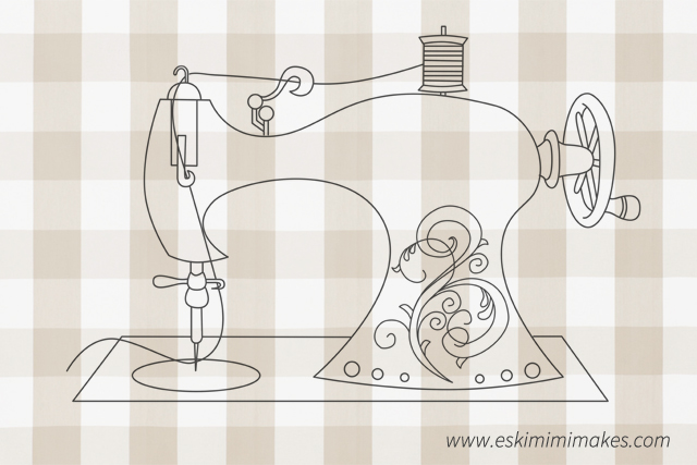 Sewing Machine Cover Part 3: Free Embroidery Pattern And Stitches ...