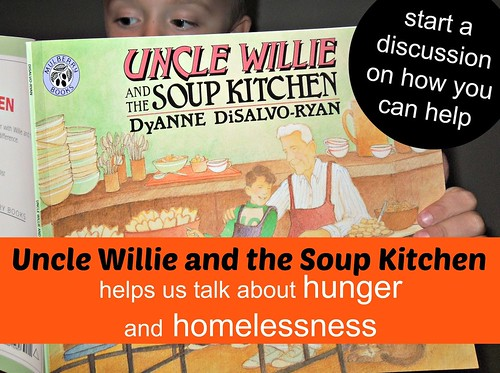 Uncle Willie and the Soup Kitchen Helps Us Talk about Hunger (Image from Pennies of Time)