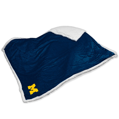 Michigan Wolverines NCAA Sherpa Blanket