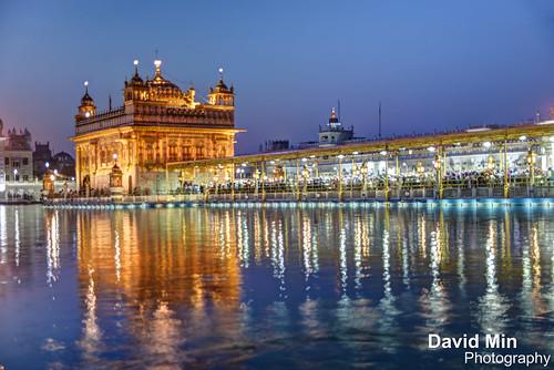 world travel sunset india lake heritage tourism night sunrise temple gold golden twilight worship visit unesco mausoleum marble sikh sahib punjab amritsar sikhism wonders goldentemple inde harmandir harmandirsahib darbar darbarsahib