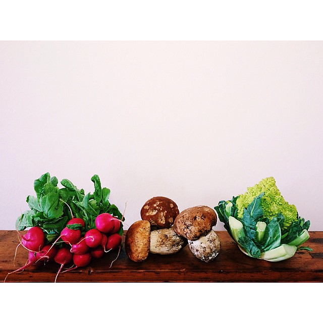 The usual suspects. #porcini #itswhatsfordinner #meatlessmonday #farmersmarket #milano #italy
