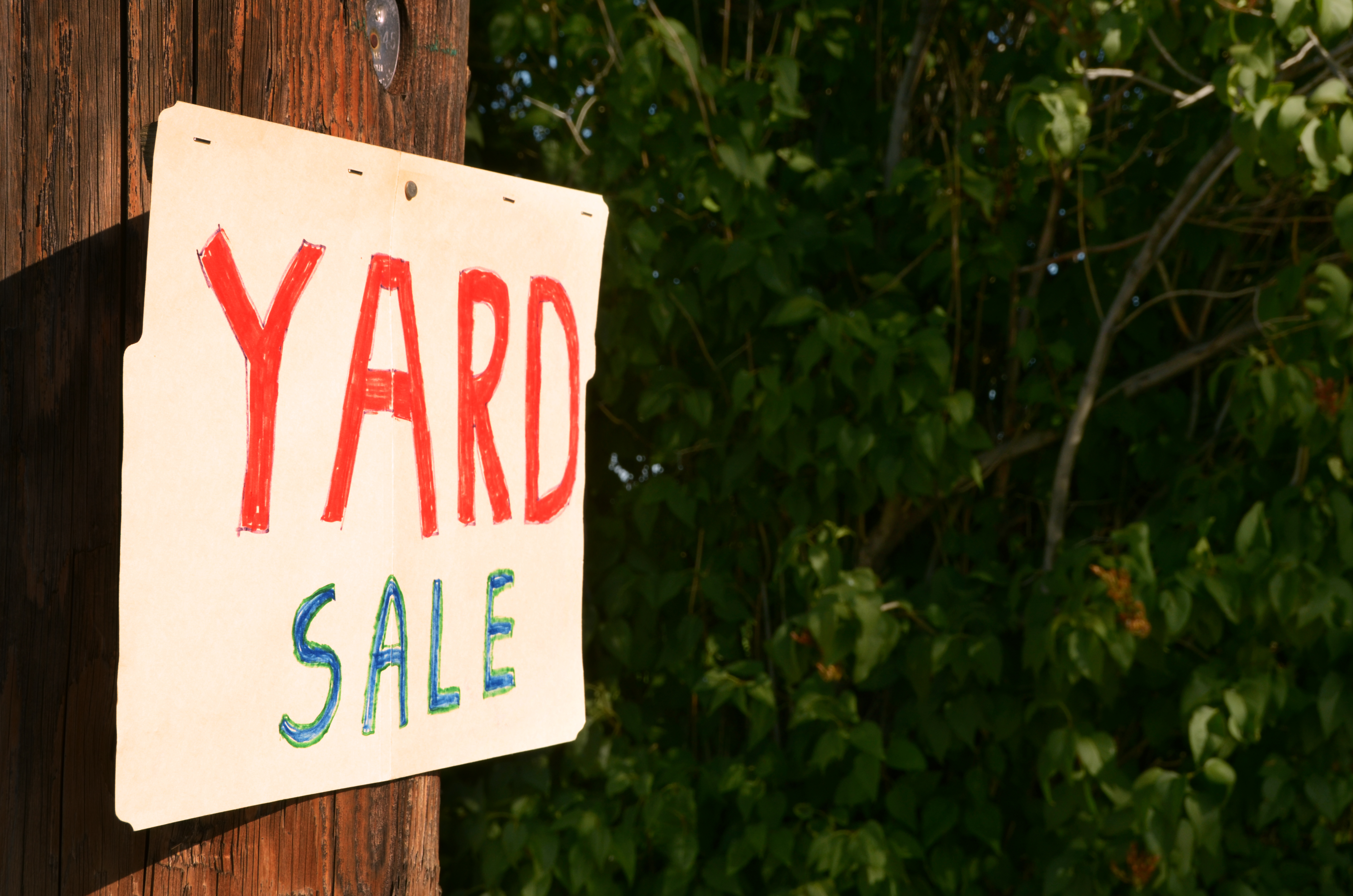 The Ultimate Guide To Hosting A Yard Sale
