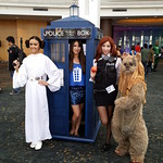 The TARDIS visits a galaxy far, far away...