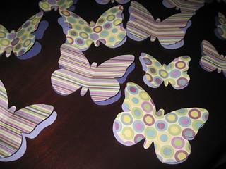 Paper Butterflies 4