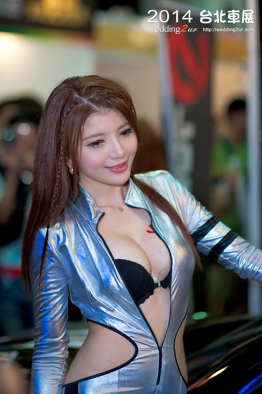 2014台北車展 show girl,46