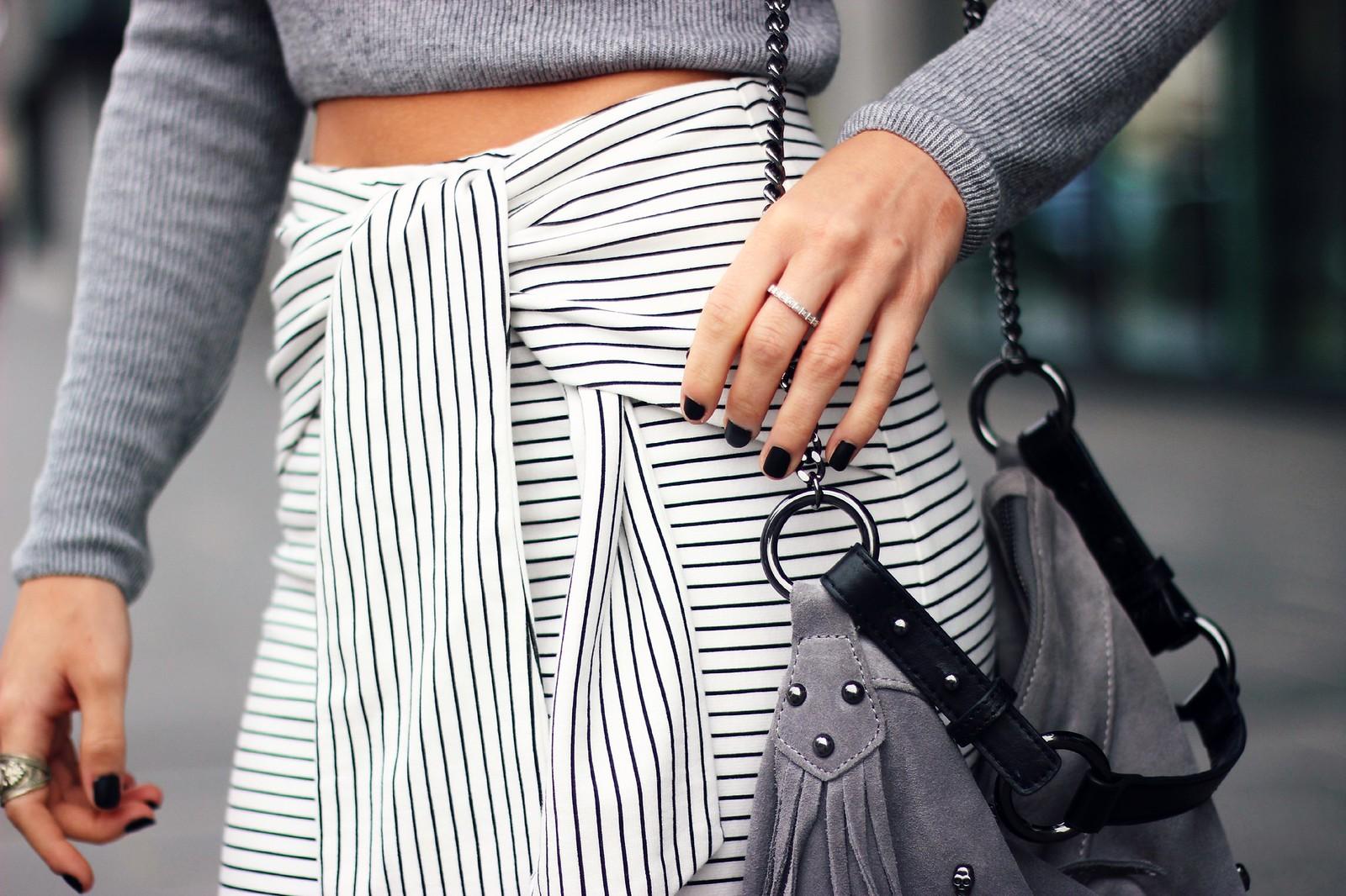 Zara Tie-Waist skirt 5