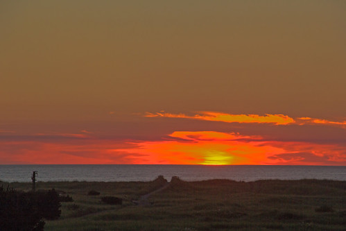 sunset beach bronze path pacificocean breakers longbeachwashington