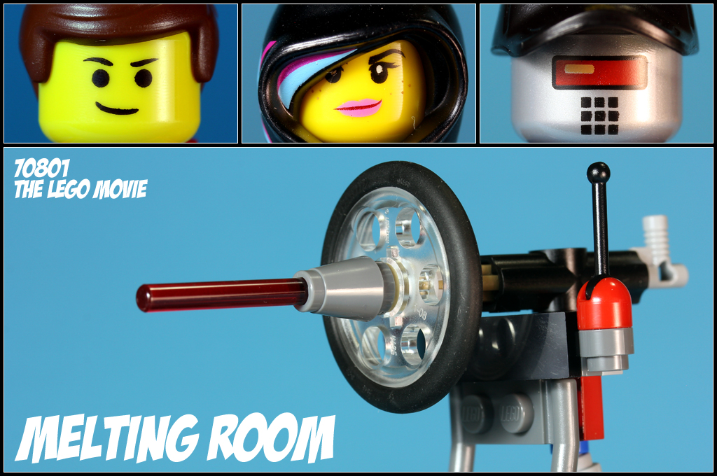 The LEGO Movie Melting Room 70801